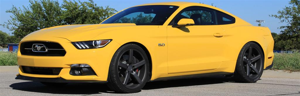2015 Mustang GT Triple Yellow Project Car - LMR.com
